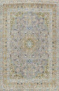 Vintage Floral Ardakan Hand-knotted Area Rug Traditional Oriental Carpet 10'x13'