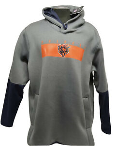 Nike NFL Chicago Bears therma hoodie Size  Large NKDB rare Justin fields Men's