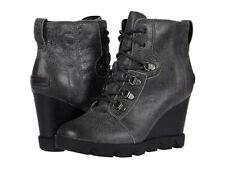 Women's Shoes Sorel JOAN UPTOWN LACE Leather Winter Boots 1915861052 QUARRY