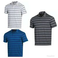 NEW Mens Under Armour Striped Golf Shirt - Choose Size & Color!