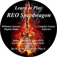 REO Speedwagon Guitar Tab Lesson CD 28 Songs + Backing Tracks + BONUS!
