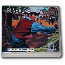 GUNSMOKE - OLD TIME RADIO - 5 CD - 554 mp3 - Total Playtime 233:27:35