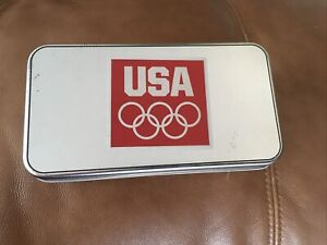 Rare Vintage Olympics Games Tin Box