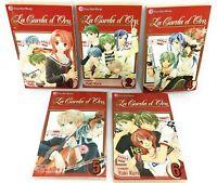 Lot 5 La Corda D'Oro  Series Set Vols 1 2 4 5 6 by Yuki Kure Shojo Beat Manga