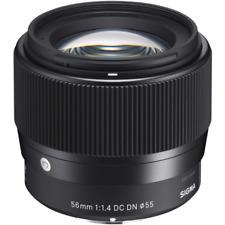 Sigma 56 mm F1.4 DC DN Contemporary Lens: Sony E Mount
