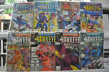 SOLO AVENGERS STARRING HAWKEYE LOT #1-8 (9.0/9.2) 8 ISSUES TOTAL! MARVEL COPPER