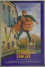 THREE O'CLOCK HIGH ROLLED ORIG 1SH MOVIE POSTER DREW STRUZAN ART (1987)
