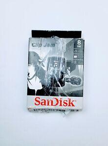 SANDISK RETAIL STORAGE MEDIA SDMX26-008G-G46K MP3 PLAYER 8GB BLACK