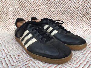 Vintage 80's/70's Adidas Universal samba Made in West Germany Size UK 10.5/US 11