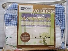 """J.C. Penney Embroidered Valance 84"""" x 17"""""""