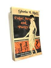 PB 1st Ed. COLOR: SEX AND POETRY, THREE WOMEN WRITERS OF THE HARLEM RENAISSANCE
