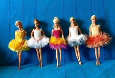 noel danseuse 5 tutus poupée barbie princesse chic unique fait main Nice France