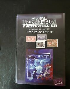 Catalogue timbres france yvert et tellier 2021