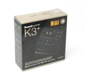 Creative Labs K3+ Audio Mixer - Sound Blaster K3 Plus