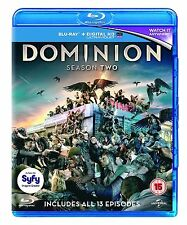 Dominion Complete Series 2 Blu Ray All Episode Second Season Original UK NEW R2