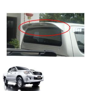 UnPaint Rear Roof Spoiler Break Light V1 Fits Toyota Hilux Vigo Champ 2011 14