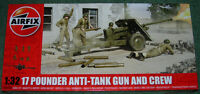 AIRFIX 17 POUNDER ANTI-TANK GUN & CREW NEW RELEASE SEALED 1/32