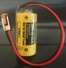 Brand New Panasonic BR-2/3A 3V Lithium Battery with Plug