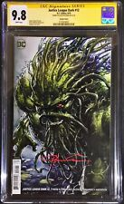 Justice League Dark #12 CGC SS 9.8 Variant Swamp Thing Cover, Crain Clayton