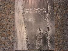 MARIO GIACOMELLI CATALOGO FOTOGRAFIE 1954/94 CHIASSO PHOTO RARO