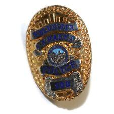 LA HABRA CALIFORNIA Volunteer Police Vintage Police Badge Lapel Hat Pin