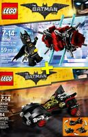 LEGO Batman Movie #30522 + #30526 - Batman + Batmobile - 100% NEW - Collector