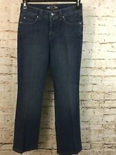 MIRACLE BODY Women's Mid Rise Blue Jean Size 6 (B17-9)