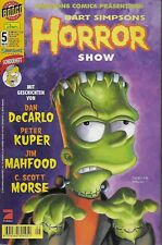 Simpsons Comics präsentiert Bart Simpson´s Horror Show Nr.5 / 2001 Sonderheft