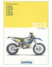 Husaberg service manual 2013 TE 250 EU, AUS, USA & TE 300 EU, AUS, USA