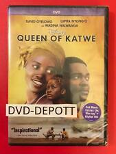 Queen of Katwe DVD (2016) Brand New AUTHENTIC FAST free Shipping
