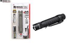 Maglite Mag Tac LED Flashlight Torch Black 320 Lumen Mag-lite ML67043 2-CR123