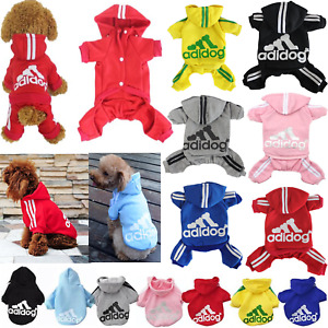 Adidog Pet Dog Clothes Cat Puppy Hodies Coat Winter Sweatshirt Warm Sweater