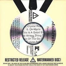 MUDCRUTCH Final Master (1st album) UK 14-trk watermarked promo test CD Tom Petty