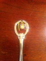 Vintage New York Flag & State- Souvenir Collectible Spoon S1-L20 *