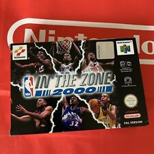 In the Zone 2000 NEU für Nintendo 64 N64 NEW CIB TOP NBA Ultra Rare PAL