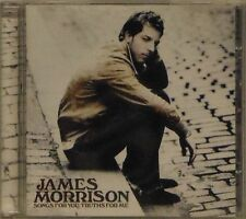 JAMES MORRISON 'SONGS FOR YOU, TRUTHS FOR ME' 12-TRACK CD