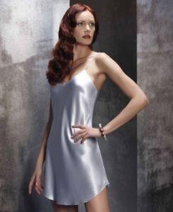 Luna di Seta, Italien, Petticoat, Unterkleid, 100% reine Seide, elfenbein, S=36