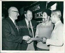 Circa 1972 Jack Christensen Stanford Football Coach Original News Service Photo