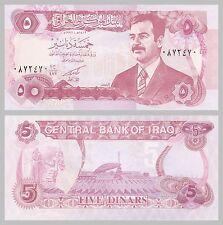 Irak / Iraq 5 Dinars 1992 p80c unc.