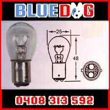 6v Stop Tail Motorbike Globe 21/5w Bay-15d Base x5 (You Are Buying 5) HL242