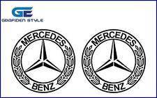 2 Stück x 9,5cm - Mercedes Benz Stern - Actros-Aufkleber-Sticker-Decal !