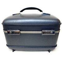 Vintage American Tourister Train Case Jewelry Cosmetic Hardshell Carrying Case