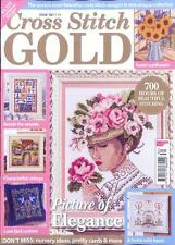 English cross stitch magazine Cross Stitch Gold 130