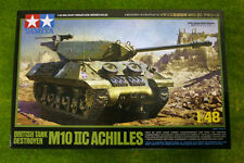 Tamiya BRITISH M10 IIC ACHILLES TANK DESTROYER 1/48 Scale kit 82