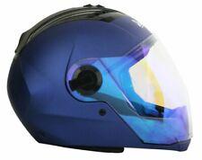 Steelbird Sba-2 Night Vision Motorcycle Full Face Matt Yamaha Blue Helmet Size-M