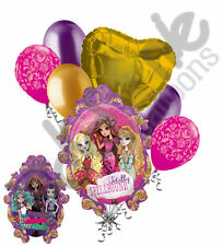 7 pc Ever After High Happy Birthday Balloon Bouquet Party Decoration Apple White