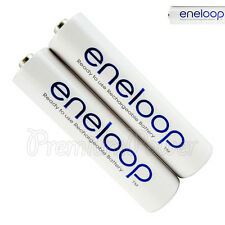 2 X Panasonic Eneloop Piles AAA 750mAh Rechargeable Batterie Ni-Mh HR03