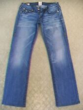 TRUE RELIGION 'BILLY SUPER T' STRETCH JEANS WMN SIZE 10