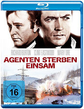AGENTEN STERBEN LONELY Richard Burton CLINT EASTWOOD Blu-ray Nuovo