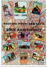 2006 BRISTOL POSTCARD FAIR ADVERTISING POSTCARD MINT UNPOSTED